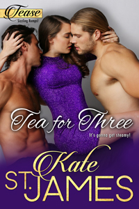 Tea for Three Cover, Story 1 in TEASE Sizzling Romps!